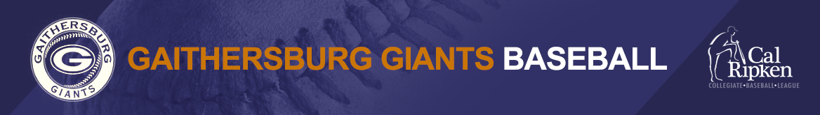 Gaithersburg Giants Baseball Logo